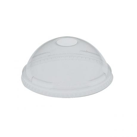 Solo DLR685 Clear Plastic Dome Lid with straw hole